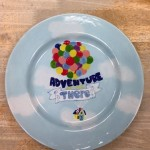 This artist spent two days working diligently on the plate and it turned out beautifully!