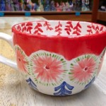 Another colorful jumbo cappuccino mug